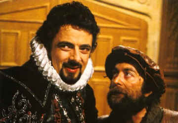 Edmund Blackadder and Baldrick